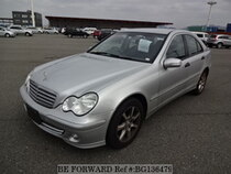 Used 2005 MERCEDES-BENZ C-CLASS BG136479 for Sale for Sale