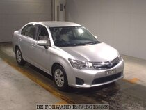 Used 2014 TOYOTA COROLLA AXIO BG138869 for Sale for Sale