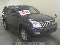 Used 2004 TOYOTA LAND CRUISER PRADO BG141156 for Sale for Sale