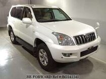 Used 2004 TOYOTA LAND CRUISER PRADO BG141142 for Sale for Sale