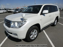 Used 2010 TOYOTA LAND CRUISER BG142834 for Sale for Sale