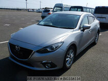 Used 2014 MAZDA AXELA HYBRID BG158116 for Sale for Sale