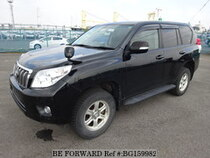 Used 2010 TOYOTA LAND CRUISER PRADO BG159982 for Sale for Sale