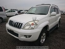 Used 2002 TOYOTA LAND CRUISER PRADO BG167680 for Sale for Sale