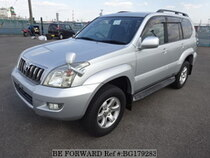 Used 2008 TOYOTA LAND CRUISER PRADO BG179283 for Sale for Sale