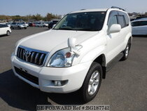Used 2004 TOYOTA LAND CRUISER PRADO BG187743 for Sale for Sale