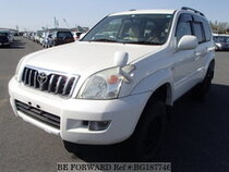 Used 2005 TOYOTA LAND CRUISER PRADO BG187746 for Sale for Sale