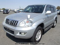 Used 2004 TOYOTA LAND CRUISER PRADO BG187725 for Sale for Sale