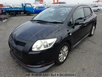 Used 2006 TOYOTA AURIS BG205881 for Sale for Sale