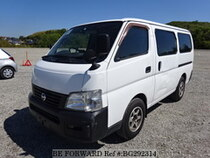 Used 2002 NISSAN CARAVAN VAN BG292314 for Sale for Sale