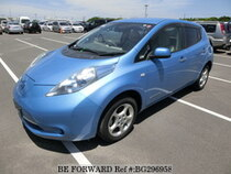 Used 2012 NISSAN LEAF BG296958 for Sale for Sale