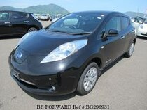 Used 2014 NISSAN LEAF BG296931 for Sale for Sale