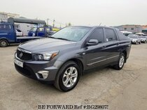 Used 2014 SSANGYONG KORANDO BG298075 for Sale for Sale