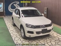 Used 2012 VOLKSWAGEN TOUAREG BG312008 for Sale for Sale