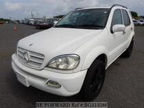 Used 2003 MERCEDES-BENZ M-CLASS BG313586 for Sale for Sale