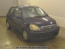 Used 2001 TOYOTA VITZ BG316273 for Sale for Sale