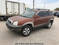 Used 2004 HYUNDAI SANTA FE BG318143 for Sale for Sale