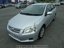 Used 2006 TOYOTA COROLLA AXIO BG321844 for Sale for Sale