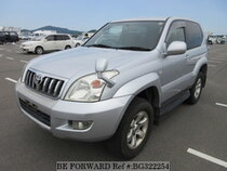 Used 2002 TOYOTA LAND CRUISER PRADO BG322254 for Sale for Sale