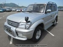 Used 2000 TOYOTA LAND CRUISER PRADO BG322259 for Sale for Sale