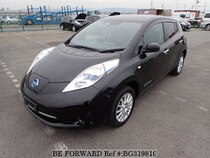 Used 2015 NISSAN LEAF BG319810 for Sale for Sale