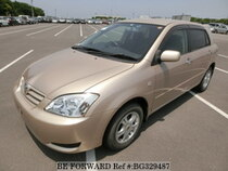 Used 2002 TOYOTA ALLEX BG329487 for Sale for Sale