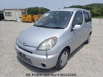Used 2001 TOYOTA FUN CARGO BG333492 for Sale for Sale