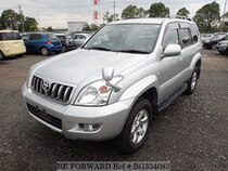 Used 2005 TOYOTA LAND CRUISER PRADO BG334083 for Sale for Sale