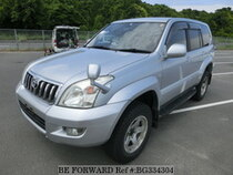 Used 2004 TOYOTA LAND CRUISER PRADO BG334304 for Sale for Sale