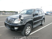 Used 2008 TOYOTA LAND CRUISER PRADO BG342448 for Sale for Sale