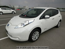 Used 2015 NISSAN LEAF BG343467 for Sale for Sale