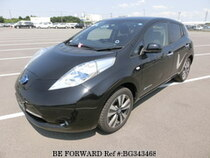 Used 2014 NISSAN LEAF BG343468 for Sale for Sale
