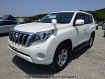 Used 2016 TOYOTA LAND CRUISER PRADO BG343611 for Sale for Sale