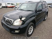 Used 2007 TOYOTA LAND CRUISER PRADO BG343557 for Sale for Sale
