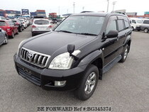 Used 2009 TOYOTA LAND CRUISER PRADO BG345374 for Sale for Sale