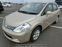 Used 2008 NISSAN TIIDA LATIO BG347699 for Sale for Sale