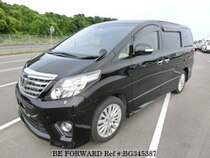Used 2012 TOYOTA ALPHARD BG345387 for Sale for Sale