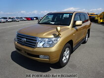 Used 2008 TOYOTA LAND CRUISER BG348597 for Sale for Sale