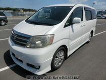 Used 2002 TOYOTA ALPHARD BG353483 for Sale for Sale