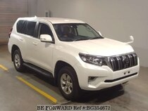 Used 2017 TOYOTA LAND CRUISER PRADO BG354673 for Sale for Sale