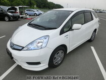 Used 2014 HONDA FIT SHUTTLE HYBRID BG362495 for Sale for Sale
