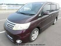 Used 2008 NISSAN SERENA BG363187 for Sale for Sale