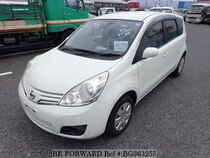Used 2012 NISSAN NOTE BG363255 for Sale for Sale