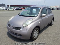 Used 2006 NISSAN MARCH BG366822 for Sale for Sale