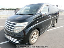 Used 2002 NISSAN ELGRAND BG369798 for Sale for Sale