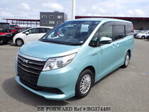 Used 2014 TOYOTA NOAH HYBRID BG374469 for Sale for Sale