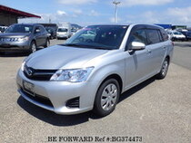 Used 2014 TOYOTA COROLLA FIELDER BG374473 for Sale for Sale