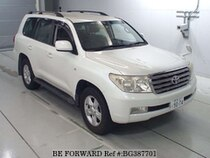 Used 2008 TOYOTA LAND CRUISER BG387701 for Sale for Sale