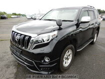 Used 2017 TOYOTA LAND CRUISER PRADO BG389587 for Sale for Sale