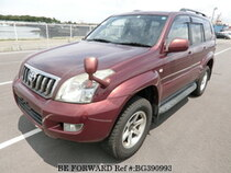 Used 2006 TOYOTA LAND CRUISER PRADO BG390993 for Sale for Sale